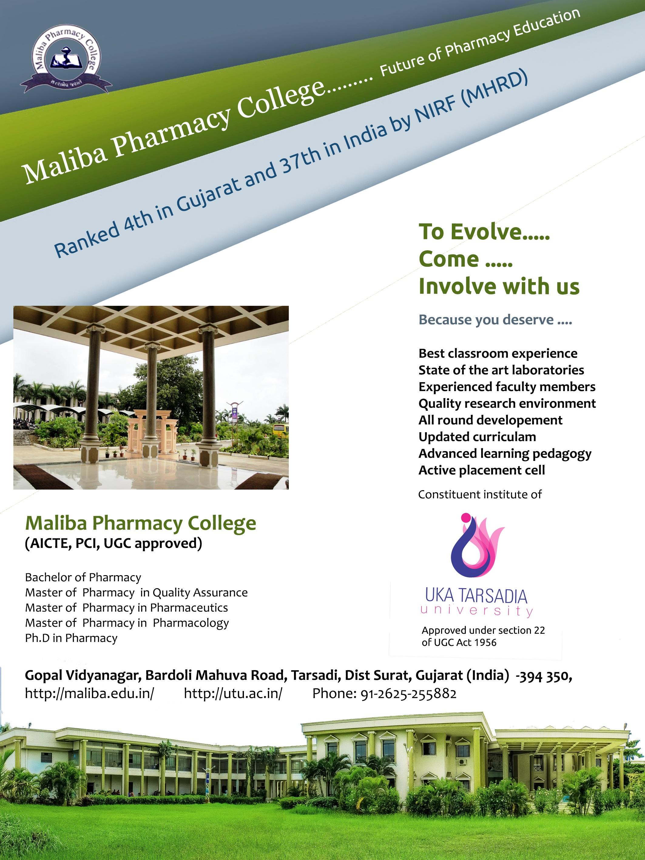 Maliba Pharmacy College - College of pharmacy us map